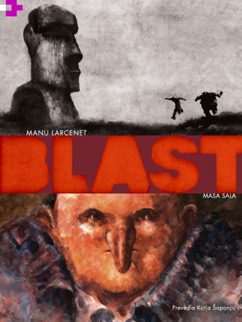 Blast.1, Masa sala - Manu Larcenet (VigeVageKnjige, 2020), prevod: Katja Šaponjić